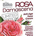 Крем для лица Anti-Age омолаживающий Bilka Collection ROSA Damascena